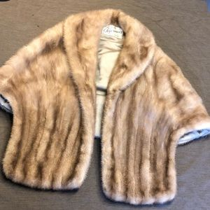Vintage Estate Real Mink Stole